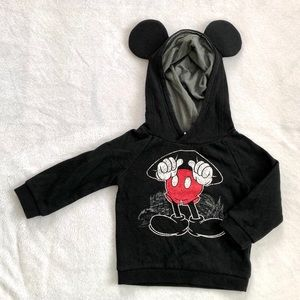 Toddler Mickey Mouse Sweatshirt with Ears 24M